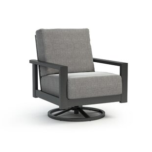 Trollinger Swivel Patio Chair with Sunbrella Cushion