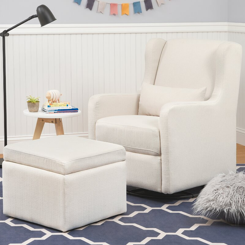 Carters Adrian Swivel Glider and Ottoman