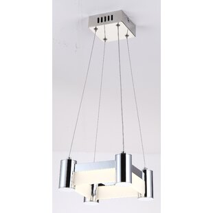 Espinal 1-Light LED Square Pendant by Orren Ellis