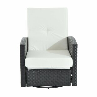 Latitude Run Cryal Patio Chair with Cushion