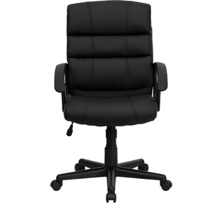 Best Personalized Genuine Leather Conference Chair by Flash Furniture Reviews (2019) & Buyer's Guide