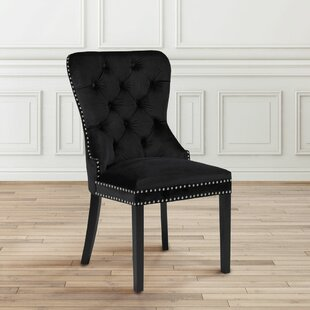 Aston Diamond Tufted Head Trim Dining Chair