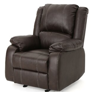 Honea Traditional Manual Glider Recliner