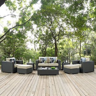Tripp 8 Piece Sunbrella Sofa Set with Cushions