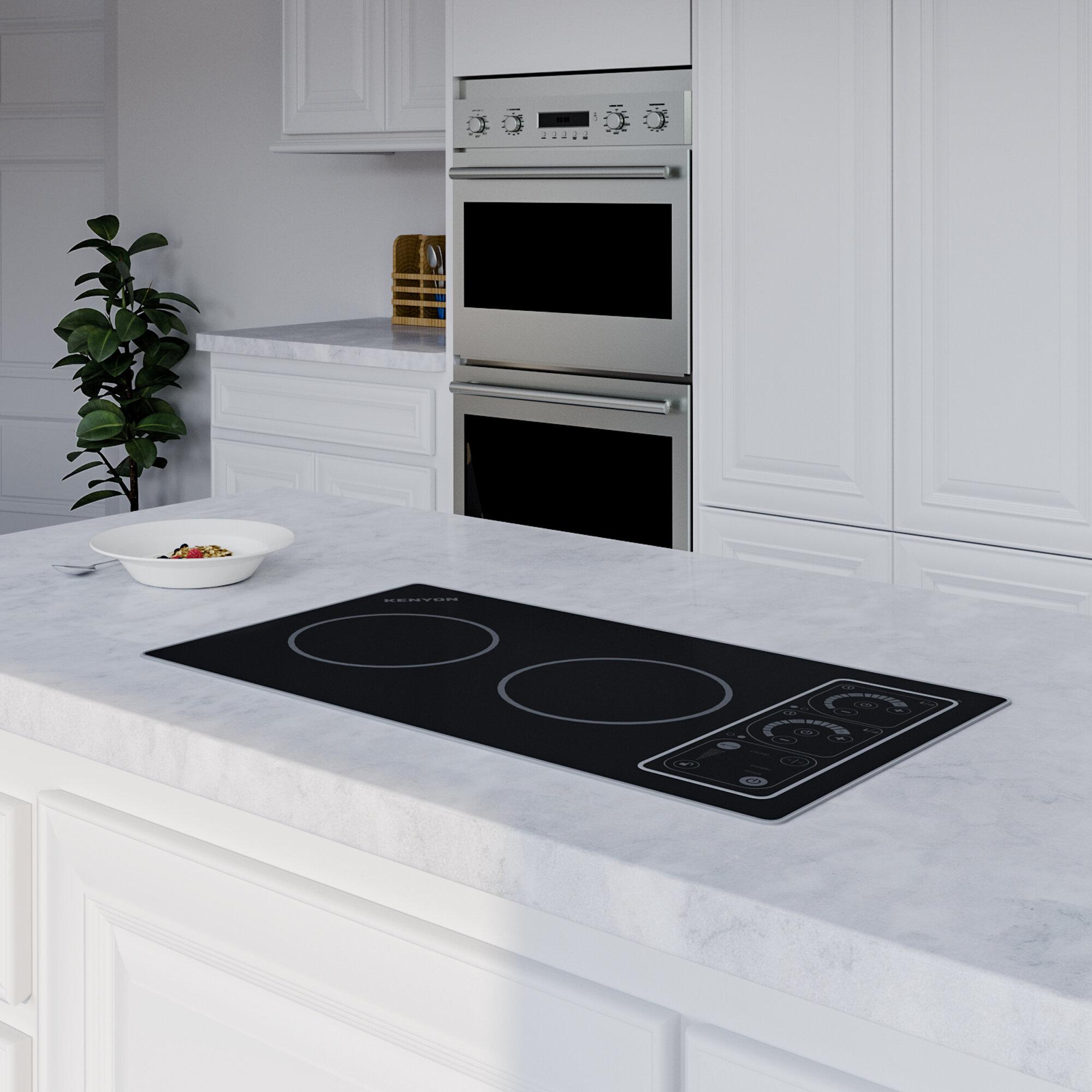 Kenyon Silken 21 Induction Cooktop With 2 Burners Reviews Wayfair