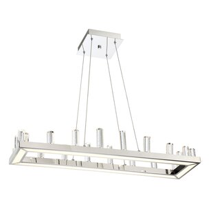 Orren Ellis Kitts 1-Light LED Kitchen Island Pendant