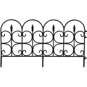15.5 in. x 26.5 in. Victorian Fence (Set of 12)