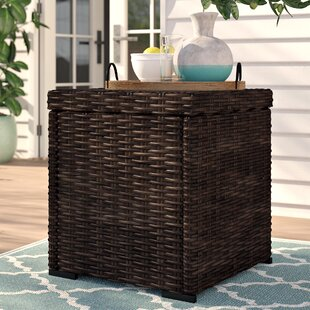 Oreland Wicker Side Table
