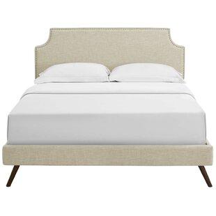Charlton Home Hertzler Upholstered Platform Bed