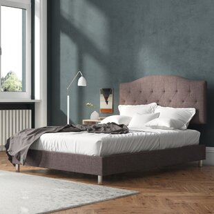 Stamey Upholstered King Size Platform Bed By Brayden Studio