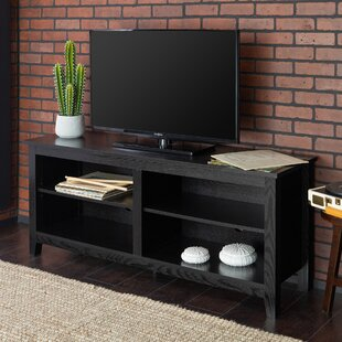 Black And Chrome Tv Stands | Wayfair