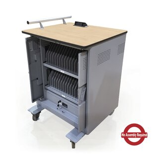 Power Center 32-Compartment Tablet Charging Cart by Marvel Office Furniture