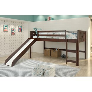 Hubbard Circles Twin Low Loft Bed by Isabelle amp Max