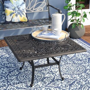 Darby Home Co Kristy Aluminum Coffee Table