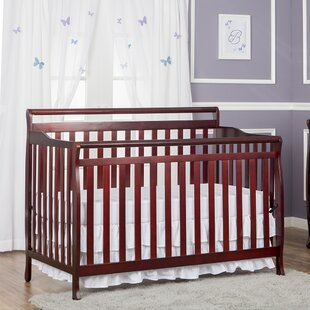 Inexpensive Ruff 4-in-1 Convertible Crib By Viv + Rae