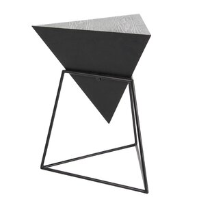 Modern Contemporary Corner Triangle Table AllModern - Black corner end table