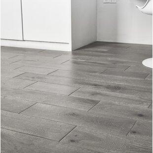 Jasmine 6 Engineered Oak Hardwood Flooring In Distressed Driftwood