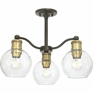 Ivy Bronx Aula 3-Light Shaded Chandelier