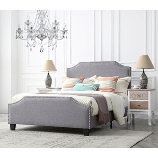 Swampscott Upholstered Platform Bed by Three Posts