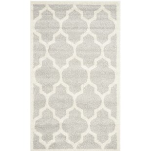 Carman Gray/Beige Indoor/Outdoor Area Rug