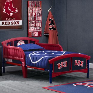 Affordable Price MLB Boston Red Sox Toddler Bed by Delta Children Reviews (2019) & Buyer's Guide