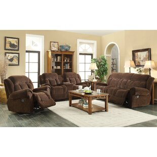 Red Barrel Studio Heidrick Reclining Configurable Living Room Set