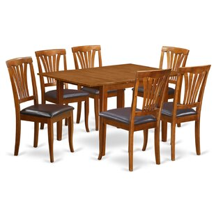 Lorelai 7 Piece Dining Set by Alcott Hill Top Reviews