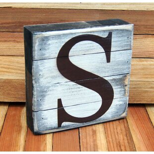 Whitewashed Letters Wayfair