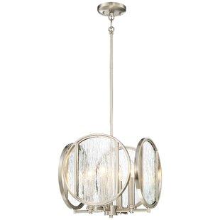 Orren Ellis Cayeman Modern 4-Light Chandelier