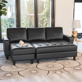 Leitner Modular Sectional with Ottoman by Latitude Run