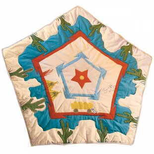Win Green Cowboy Wigwam Floor Quilt