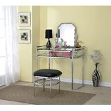Wickham Vanity with Mirror by Everly Quinn