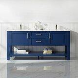 Kesgrave 72 Double Bathroom Vanity Set by Brayden Studio®