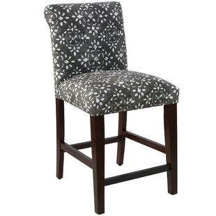 Bungalow Rose Donahue Rolled Back Upholstered Dining Chair