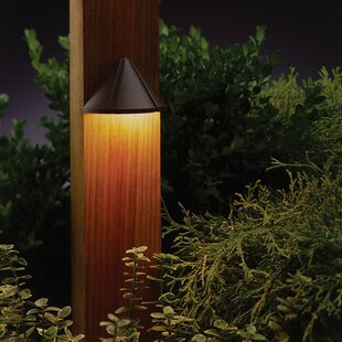 Clearance Triangular 1-Light Deck Light By Kichler