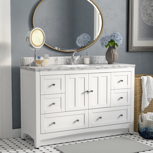 Royalpurplebathkitchen Nixon Floor Mount 24 Single Bathroom Vanity Set Wayfair