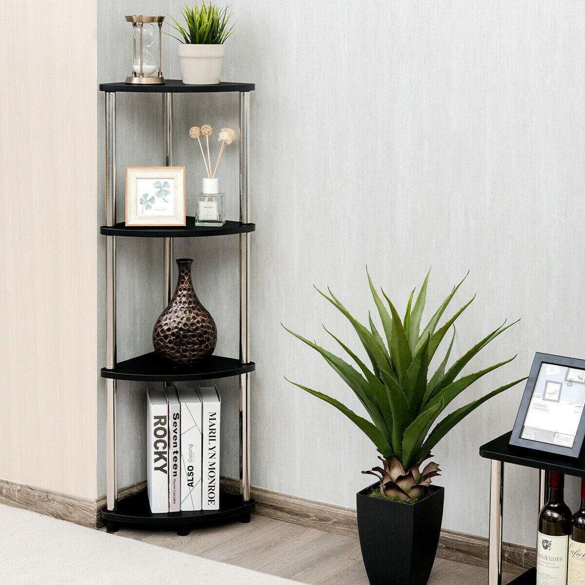 H X 11 5 W 4 Tier Corner Living Room