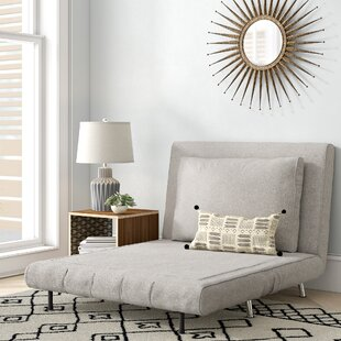 Light Gray Futon Chair