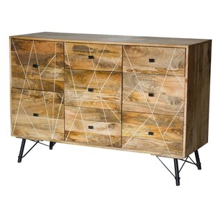 Grisha 8 Drawer Double Dresser by Union Rustic