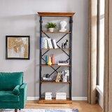 Richarson 86.5' H x 36.25'' W Metal Etagere Bookcase by Alcott Hill®