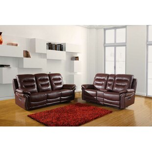 Excelsior Reclining 2 Piece Living Room Set by Red Barrel Studio