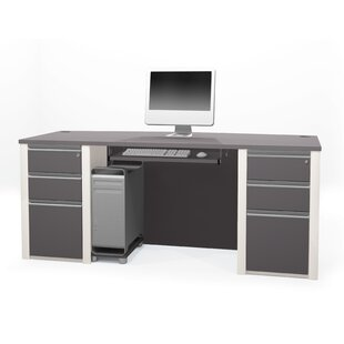 Orren Ellis Aurea Standard Desk Office Suite
