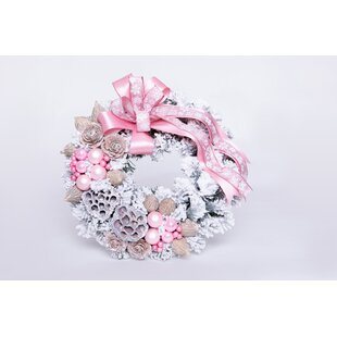 35cm Christmas Wreath By The Seasonal Aisle