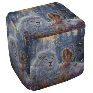 Star Birth Pouf by Manual Woodworkers & Weavers