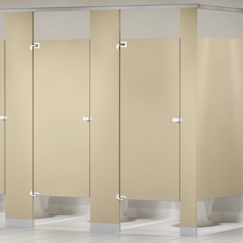 Bradley Corporation Baked Enamel Overhead Braced Toilet Partitions Wayfair