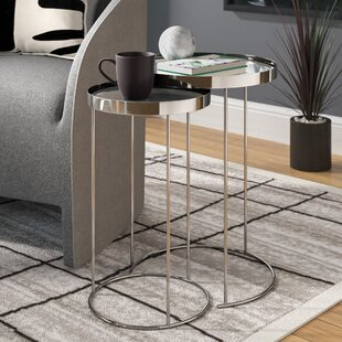 Adcock 2 Piece Nesting Tables by Orren Ellis