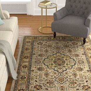 Purchase Medici Silver/Gold/Amethyst Area Rug By Astoria Grand