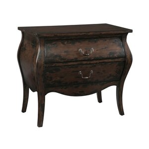 Bombay 2 Drawer Accent Chest by Hekman