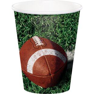 Tailgate Rush Paper Disposable Cup (Set of 24)