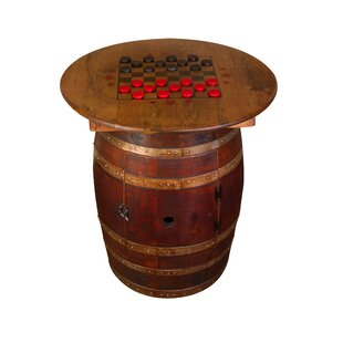 Whiskey Barrel Pub Table by Na..